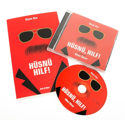Hüsnü Hilf! Book and CD cover illustration