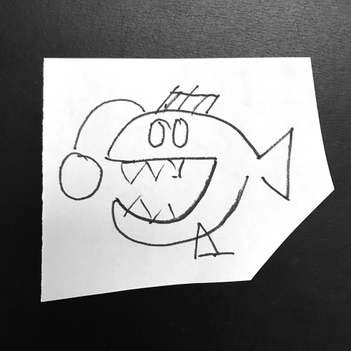 Anglerfish sketch