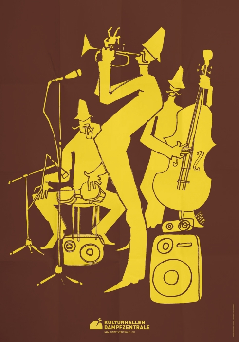 Kulturhallen Dampfzentrale poster