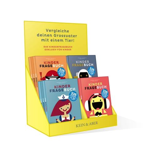 Kinderfragebuch book sales book mockup