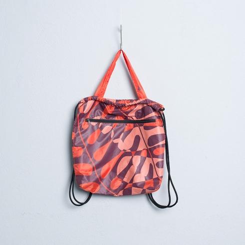 Kitchener Bag Philodendron Zipper