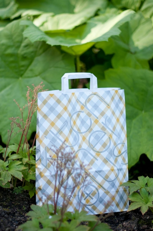 Kitchener Paper Bags pattern designs