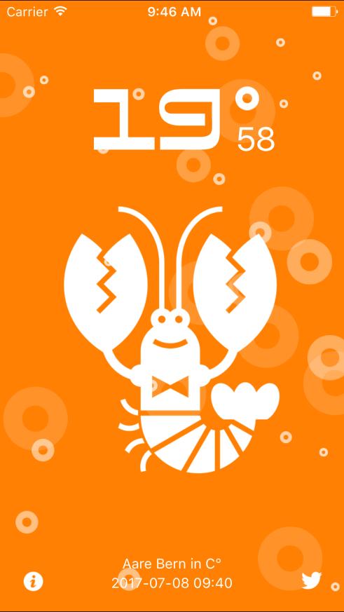 mAARE app screen