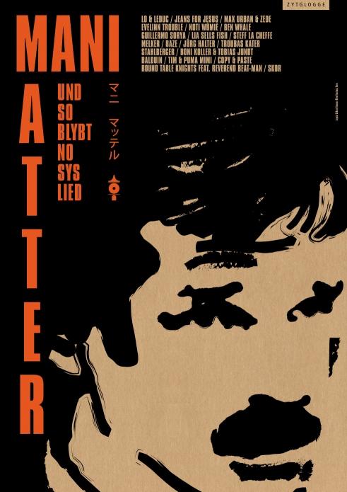 Mani Matter Tribute Und so blybt no sys Lied promo poster