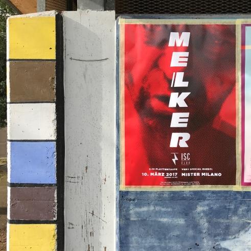 Melker album release concert poster 2017 (ISC)