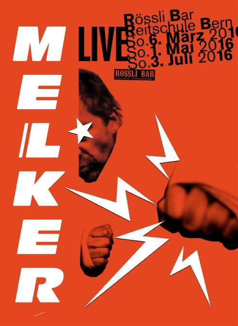 Melker concert poster 2016