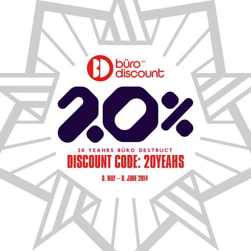 20% Off on BD products at Büro Discount