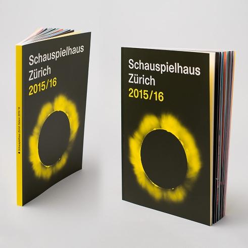 Schauspielhaus Zürich Season 15/16 Book