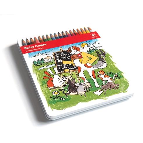 Swiss Coloring Book
