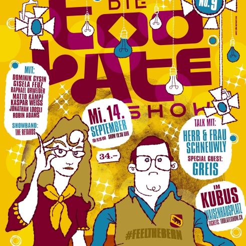 Too Late Show 9 poster