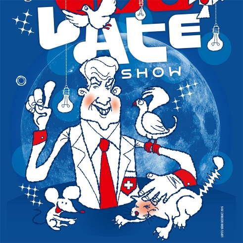 Too Late Show 3 poster