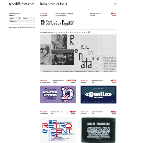 typedifferent.com home