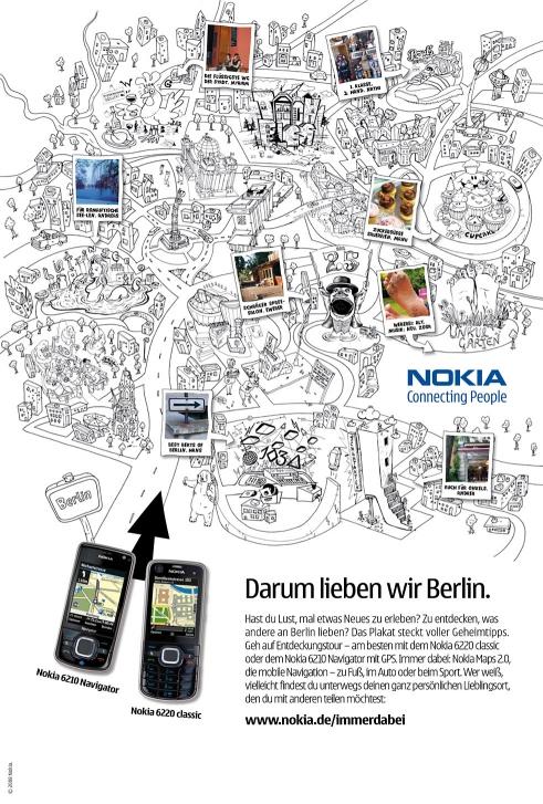 Nokia Navigation Campaign Berlin