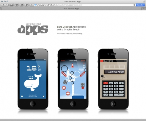 old BD website apps portfolio