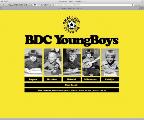 old BD website contact