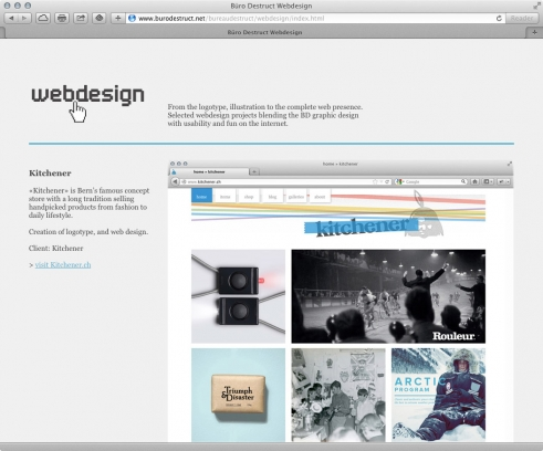 old BD website website portfolio