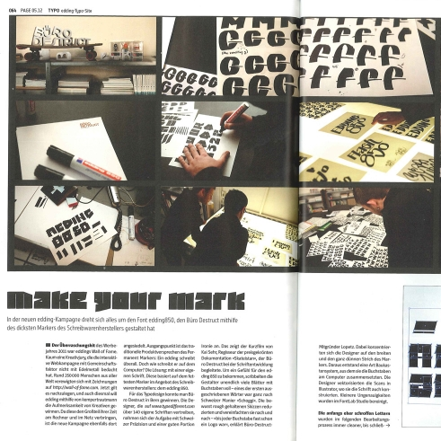 PAGE Magazine, Germany Issue 05/12