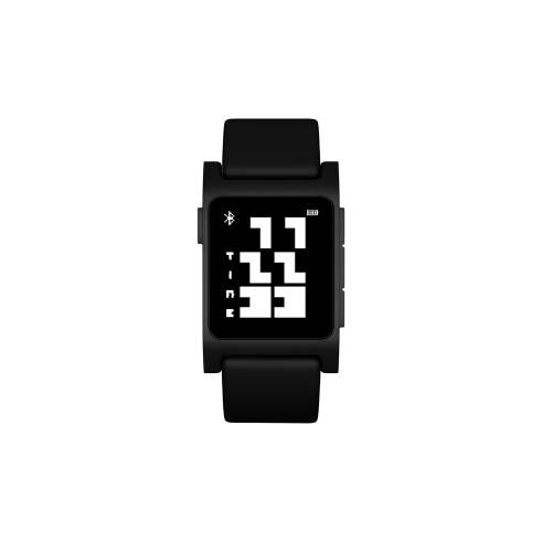 BD TinyFont Watchface for Pebble