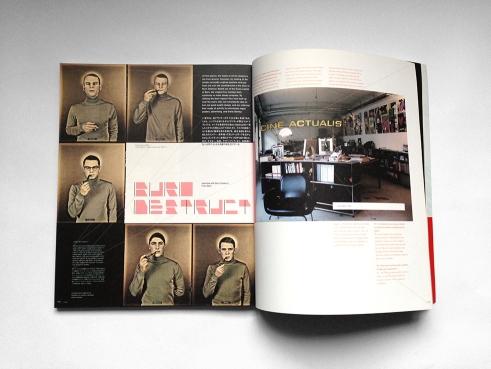 +81 Magazine spread