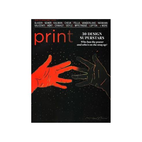 Print Magazine cover
