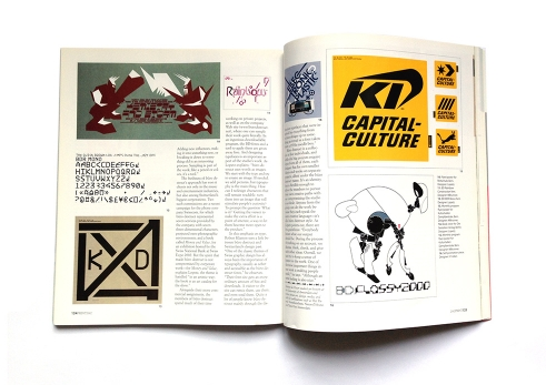 Print Magazine spread