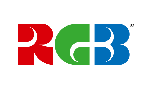 RGB character logotype