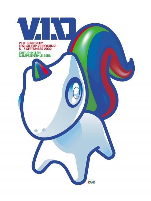RGB V.I.D. festival poster