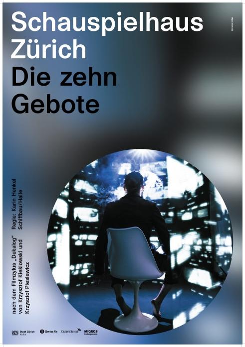 Schauspielhaus Zürich Die zehn Gebote poster