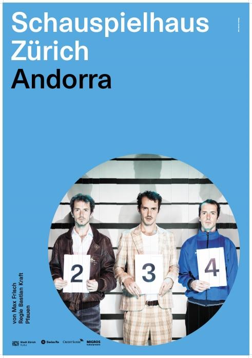 Schauspielhaus Zürich Andorra poster