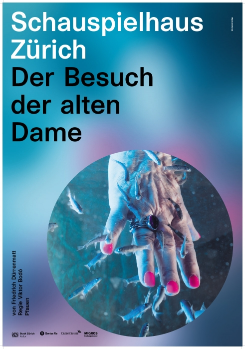 Schauspielhaus Zürich Der Besuch der alten Dame poster