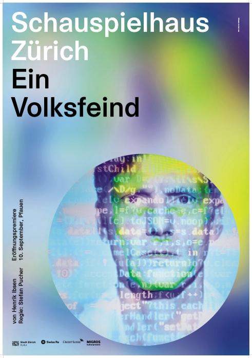 Schauspielhaus Zürich Ein Volksfeind poster