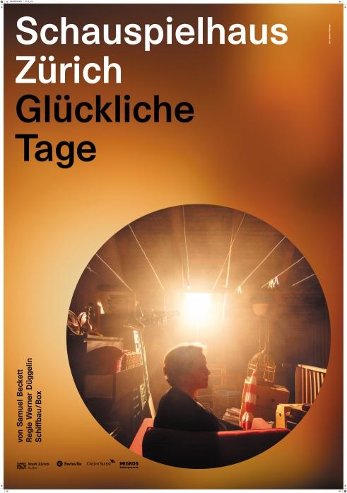 Schauspielhaus Zürich Glückliche Tage poster
