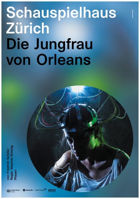 Schauspielhaus Zürich Die Jungfrau von Orleans poster