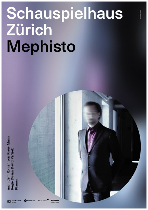 Schauspielhaus Zürich Mephisto poster