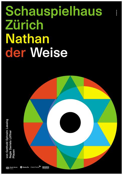 Schauspielhaus Zürich Nathan der Weise poster