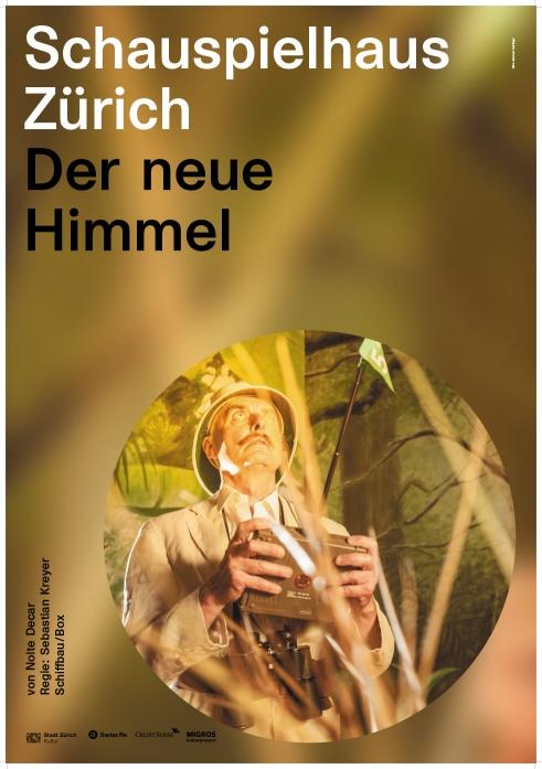 Schauspielhaus Zürich Der neue Himmel poster