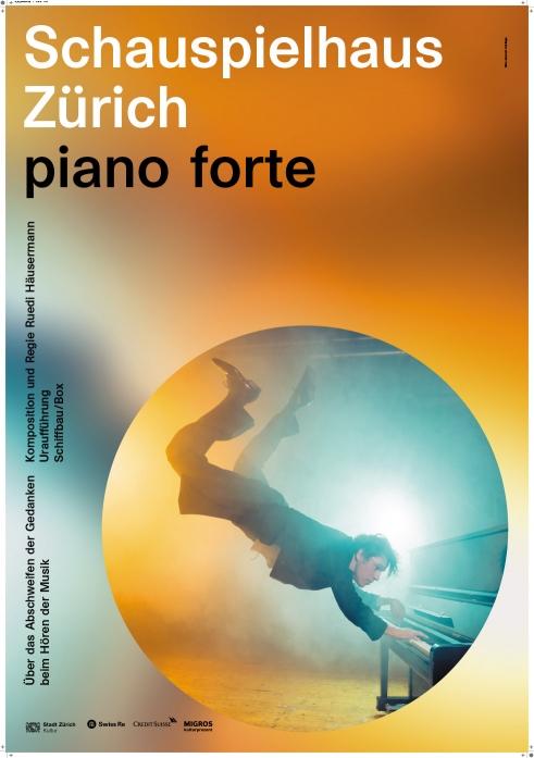 Schauspielhaus Zürich Piano Forte poster