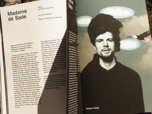 Schauspielhaus Zürich Season 16/17 Book spread