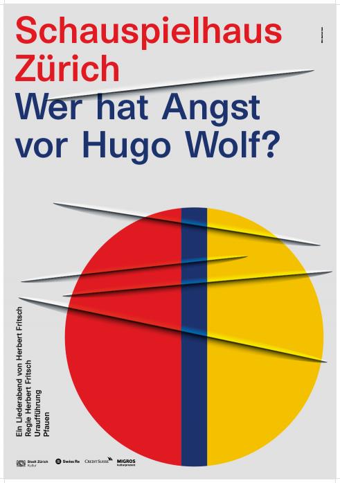 Schauspielhaus Zürich Wer hat Angst vor Hugo Wolf poster