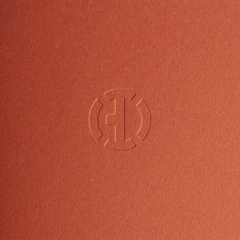 BD Sketchbooklet Terra Rosso cover detail