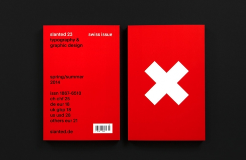 Slanted Magazine Swiss Issue cover