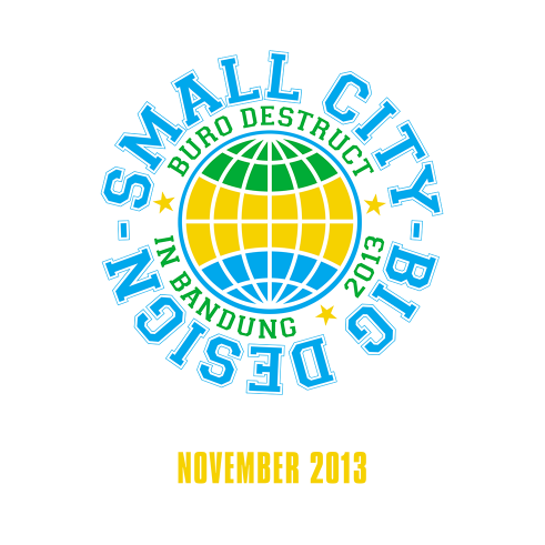 Small City Big Design event logotype