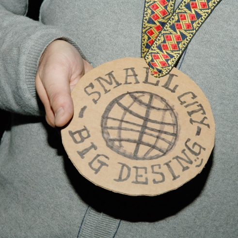Berner Design Preis 2009 Small City Big Design medallion