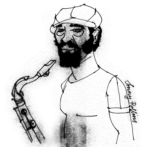 Sonny Rollins illustration