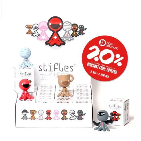 20% Off on BD Stifles series 1 vinyl characters