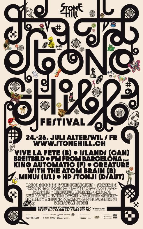 Stone Hill Festival poster 2008