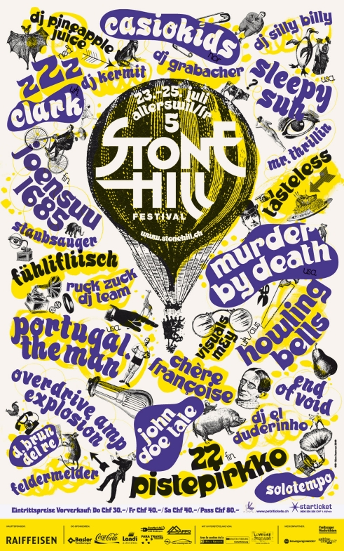 Stone Hill Festival poster 2009