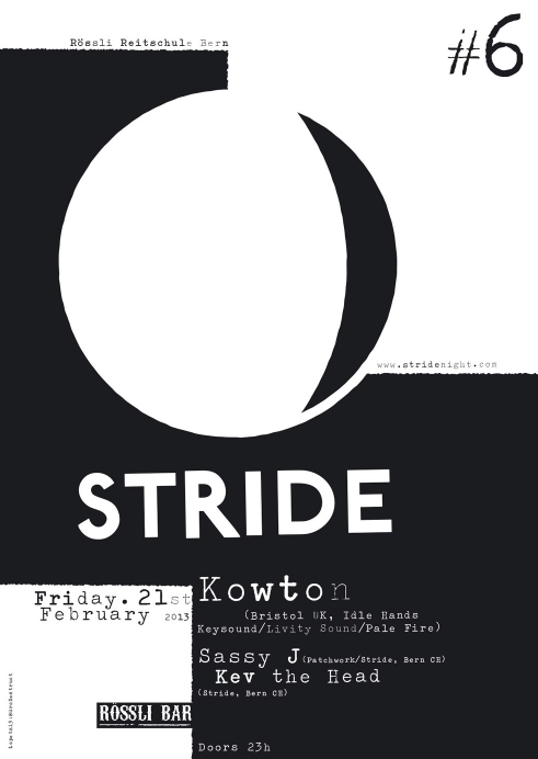 Stride Night flyer