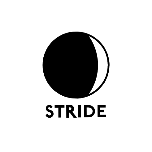 Stride Night logotype positive