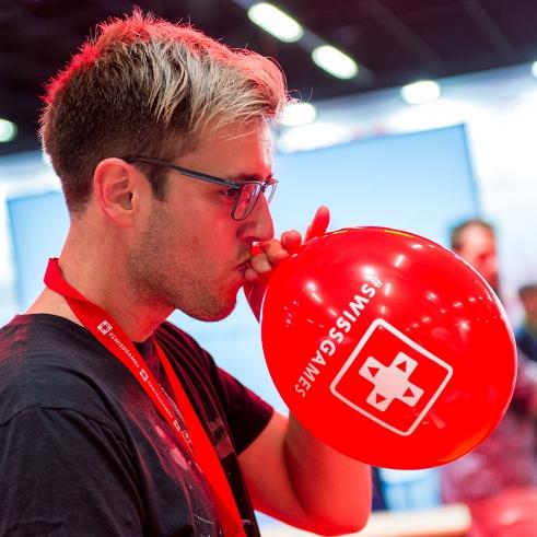 Swissgames balloon